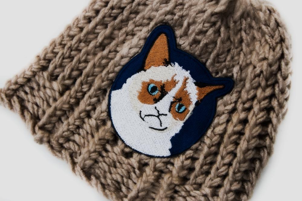 Грустный кот Грампи кэт